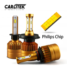 Buy H7 H11/H8/H9 H1 H3 HB3 9006 H4 H7 LED Car Headlight Bulb Hi-Lo Beam 50W 8000LM 6000K Philips Chip Auto Headlamp Automobile 12v for $19.88 in AliExpress store