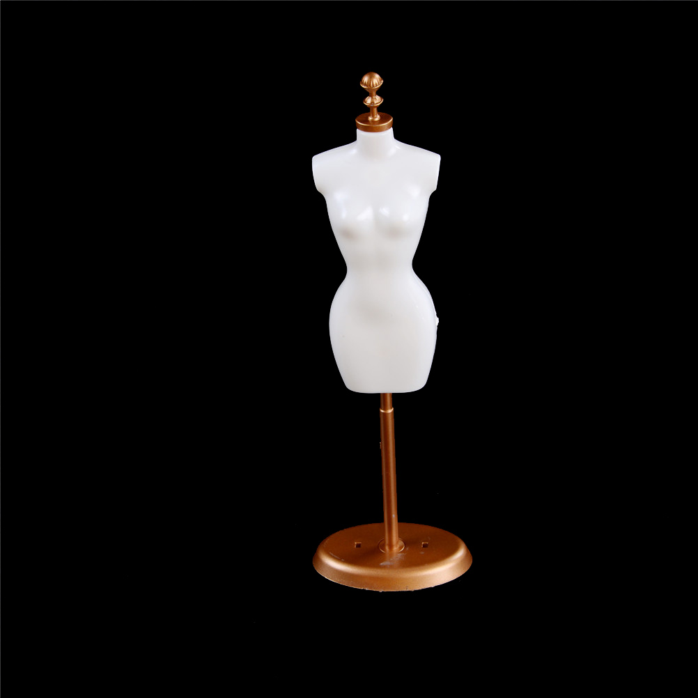 3PCS Display Holder Dress Clothes Gown Mannequin Model Stand For Barbie Doll Plastic For Barbie Dolls Model Stands
