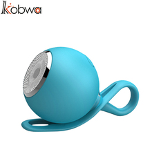 kobwa Ultra Portable Dust proof Waterproof silicon Bluetooth Speaker Outdoor Sport Mini Wireless Speaker Running Hiking 4 color(China)