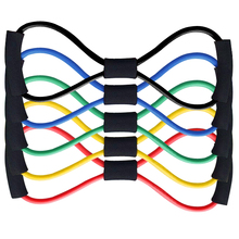 Rubber Developer Latex Chest Expander Tension Device Yoga Tube Body Bands Elastic Spring Exerciser Resistance Bands(China)