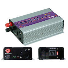 300W Solar Power Grid Tie Inverter DC 10.8-30V/22-60V to AC 120V or 230V MPPT Pure sine wave on grid inverter for solar panels
