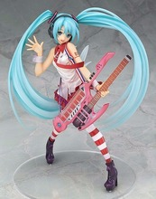 Anime Figure 20 CM Hatsune Miku Greatest Idol Ver. Electric Guitar Miku PVC Action Figure Collectible Model Toy