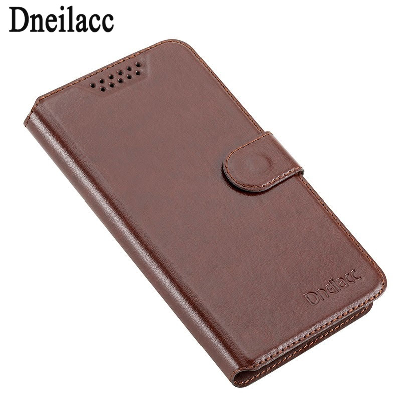 Dneilacc Homtom HT16 Vintage Wallet Case PU Leather Retro Flip Cover Magnetic Fashion Cases Card Holder
