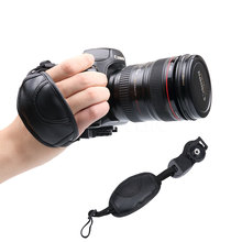 Universal Camera Wrist Hand Strap Leather Soft Grip Wrist Belt for For NIKON D7000 D5100 D5000 D3200 Canon for Sony Olympus