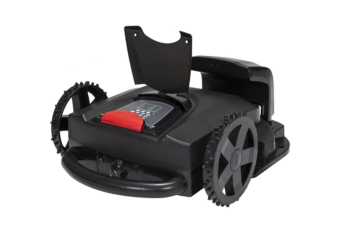 Cuting Grass robot lawn mover /automower free shipping sale by factory(China)