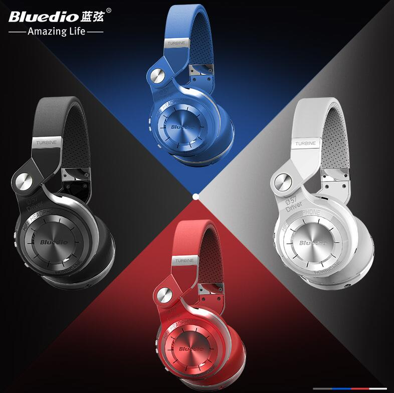 100%Original Bluedio T2 57mm Powerful Bass Stereo Bluetooth V4.1 Wireless Headphone Bulit-in Microphone Noise Isolating Headset<br><br>Aliexpress