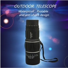 YINGTOUMAN  Monocular Telescope 16*52mm Zooming Focus Green Optical for outdoor Hunting Hiking Mini Monocular Telescope