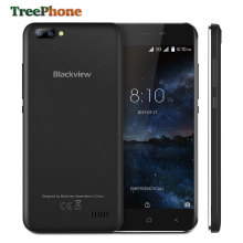 New BLACKVIEW A7 smartphone Dual Rear Camera MT6580 Quad core Android 7.0 mobile phone 5.0inch HD IPS 1GB+8GB GPS 3G cell phone(China)