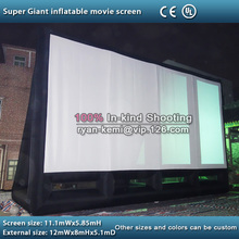 giant 12m inflatable movie screen outdoor inflatable movie screen large inflatable screen