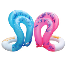 Hot Kids Adults PVC Inflatable Swim Arm Rings Swimming Laps Pool Toys Baby Float Circle(China)