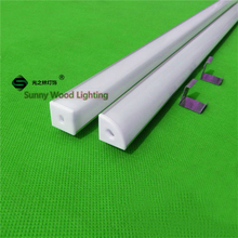 6pcs/lot 40inch 1m led profile for 3528/5050/2835/5630 strip,corner aluminium profile with cover for led bar light AP-16*16