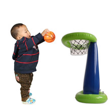 Inflatable Basketball Stand Kids Basketball Shooting Game Children Slam Dunk Inflated Toy Basketball Stand Birthday Party Favor