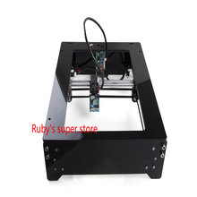 DIY laser engraving machine engraving area 210 x 250 mm 2500mW laser machine marking machine cutting plotter(China)