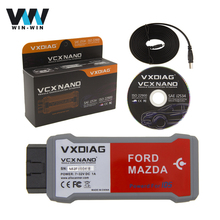 VXDIAG VCX NANO Diagnostic Tool For Ford/Mazda 2 in 1 with IDS V101 V99 VCX Nano OEM Diagnostic Scanner for SAE J2534 ISO 22900