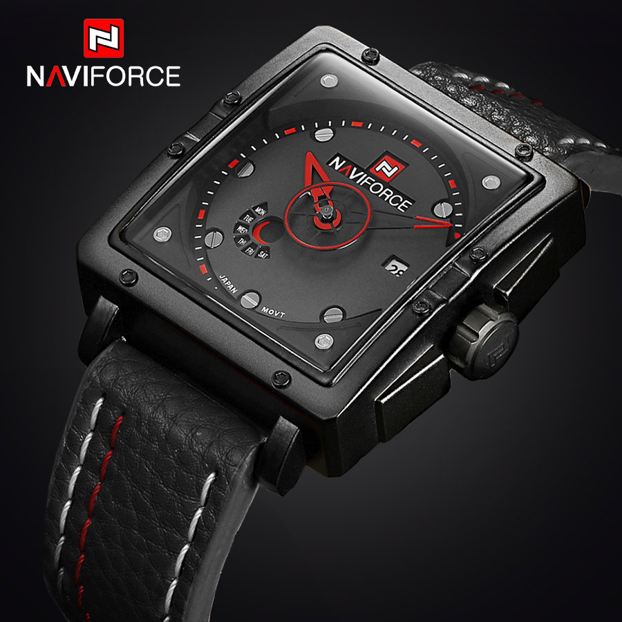2017 New Luxury Brand Men Sports Watches Mens Quartz Analog Date Clock Man Army Casual Leather Wrist Watch Relogios Masculino<br><br>Aliexpress