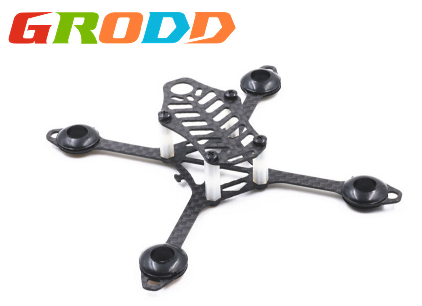 Ultra-small ultra-light mini machine frame 105 through the carbon fiber chassis frame indoor flying FPV aerial drone rc airplane<br><br>Aliexpress