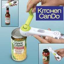 Practical Multi-Function Bottle+Can+Jar Opener,7 in 1 Kitchen cooking Tools,Beer Wine Soda Easy unbolt
