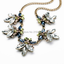 N2043 new fashion high quality yiwu jewelry factory statement necklace costume jewelry factory direct(China)