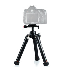 Viltrox VX-T60 Portable Aluminum Tripod Compact Desktop Mini Table Camera Tripod with Ball Head for Sony Canon Nikon DSLR