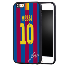 Soccer Star football player MESSI jersey case cover for Samsung Galaxy s6 S7 edge S8 plus s4 s5 note 2 3 4 5