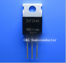 50pcs IRFZ44 IRFZ44N TO-220 triode transistor audion with tracking number(China)