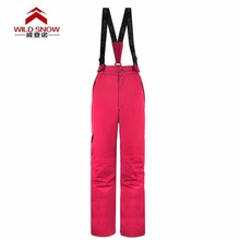 Professional Winter Ski Pants  Women Warm Waterproof Snow Skiing Snowboard Pants Outdoor Trousers PYP512