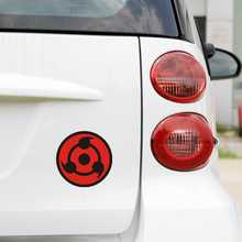 Naruto Uchiha sharingan car sticker and decals For Chevrolet Cruze Ford Focus volkswagen Polo Golf 7 Peugeot 307 kia mazda opel(China)