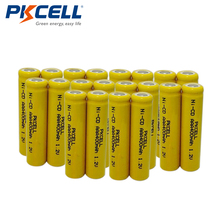 20 x AAA Size Battery 400mAh 1.2V Ni-CD Rechargeable Battery PKCELL(China)