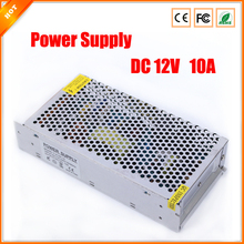 High Quality 12V 10A 120W Switch Switching Power Supply for CCTV camera for Security System 110-240V(China)