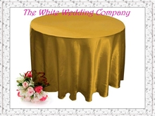 10pcs 70'' Round Satin GOLD Table Cover  Round Tablecloths Wedding Table Linens for wedding for party