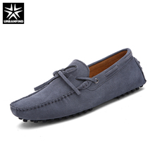 Brand New Fashion Summer Spring Men Driving Shoes Loafers Leather Boat Shoes Breathable Male Casual Flats Loafers Size 38-49(China)