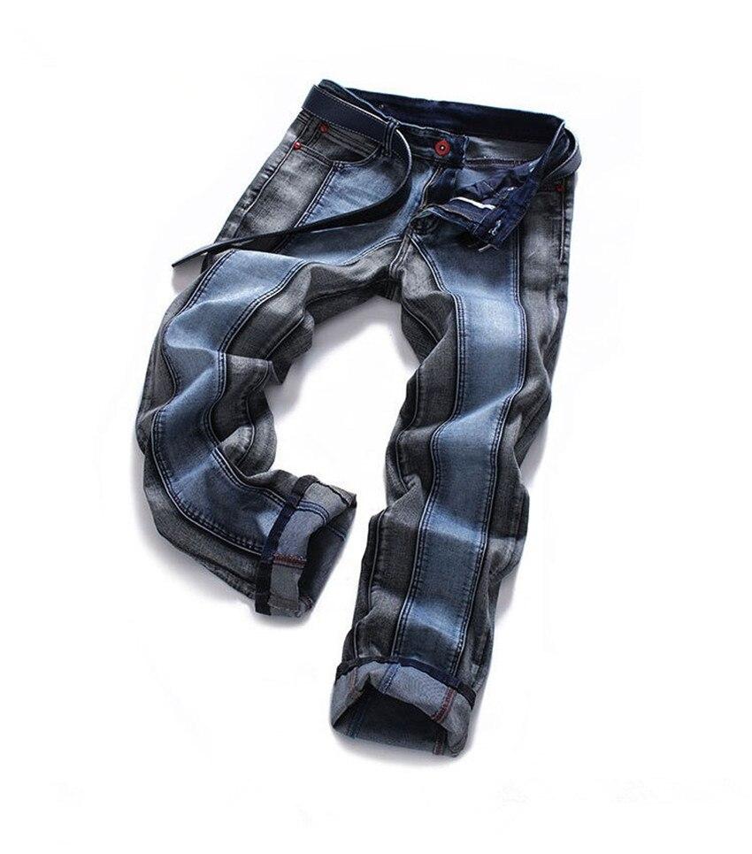 2017 Men Jeans New Arrival High Quality Trousers Deep Blue Colour Slim Fashion Brand Plus Size Jeans MenОдежда и ак�е��уары<br><br><br>Aliexpress