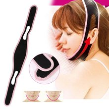 1Pcs Health Care Thin Face Mask Massager Slimming Facial Thin Masseter Double Chin Skin Care Thin Face Bandage Belt Slimming(China)