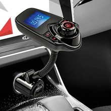 T11 Bluetooth car MP3 Music Player Cars Kit Hands free FM Transmitter Wireless Support TF Card U Disk Player Dual USB Charger