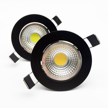Dimmable Led downlight light COB Ceiling Spot Light 6W 9W 12W 15W 18W 85-265V ceiling recessed Lights Indoor Lighting