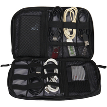 VEEVANV Electronic Accessories Packing Bag For Phone Charger Date Cable SD Card USB To Travel Organize Put In Suitcase