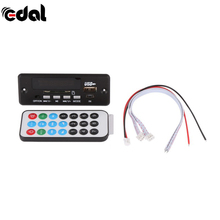 EDAL Bluetooth 7~12V Car Handsfree Bluetooth MP3 decode board with module+FM MP3 Player Decoder(China)