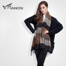 [VIANOSI] Brand Warm Women Scarf Tassel Winter Scarf Women Shawls Soft Foulard DS063(China)