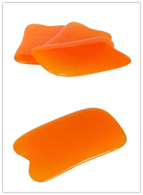Hot Sale 1PC Beeswax Resin Guasha Massager Natural Gua Sha Scrapping Plate For Body Chakra Healing Reiki Massage Useful