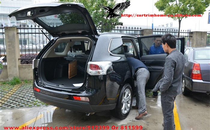 Black Beige Grey Retractable Rear Cargo Trunk Cover For Mitsubishi Outlander EX 2013 2014<br><br>Aliexpress