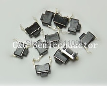100pcs DIP push button switch Tact Switch 3*6*4.3mm 3x6x4.3mm IC