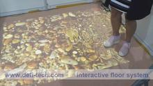 we provide  Interactive floor projection system with 130 effects  for Advertising, event, wedding