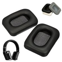(Random Color) Replacement Black Earpad Ear Pads Cushion For Monster Inspiration PU Leather Headphone.