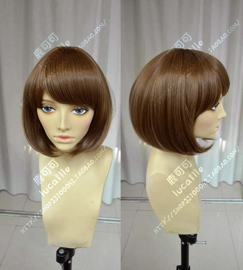 Free Track Anime Life Is Strange Max Short Brown Full Lace Cosplay Wig Costume Heat Resistant +Cap<br><br>Aliexpress