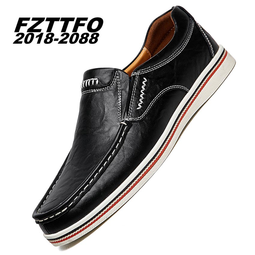 38-47 Big Puls Size Handmade Genuine Leather Flats Mens Boat Shoes High Quality Loafers Brand Driving Shoes K498<br>