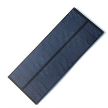 BUHESHUI 2.2W 5.5V Polycrystalline PET DIY Solar Panel Charger 3.6V Battery Cell 188*78.5MM 3 - Cooleleparts Center store