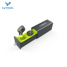 LYMOC TWS Bluetooth Headsets True Wireless Earphones Mini In-Ear Magnet Charger Box Metal Music Sport Phone Handsfree MIC Apt-X(China)