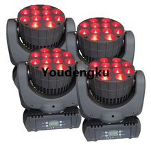 6 pieces led disco moving light 12x12w led 4in1 moving head RGBW LED sharpy beam moving head wash light(China)