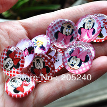 diy handmade photo glass beads 50pcs mixed samples 20mm for diy jewelry findings(China)