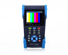 3.5 inch HD coaxial cctv camera tester with cable test for AHD HDTVI HDCVI SDI camera PTZ wifi function